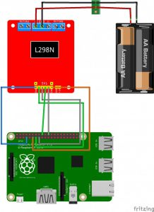 Raspberry PI - remote controlled car with a Raspberry Pi wiring motor driver