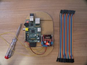 Raspberry PI - remote controlled car with a Raspberry Pi female-to-female jumper wires