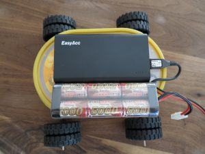 Raspberry PI - remote controlled car with a Raspberry Pi power supply 5