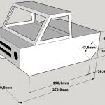 Cardboard Car - Chassis drawing