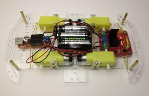 Smart robot chassis Acrylic chassis