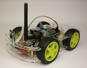 Smart robot car chassis Acrylic finished