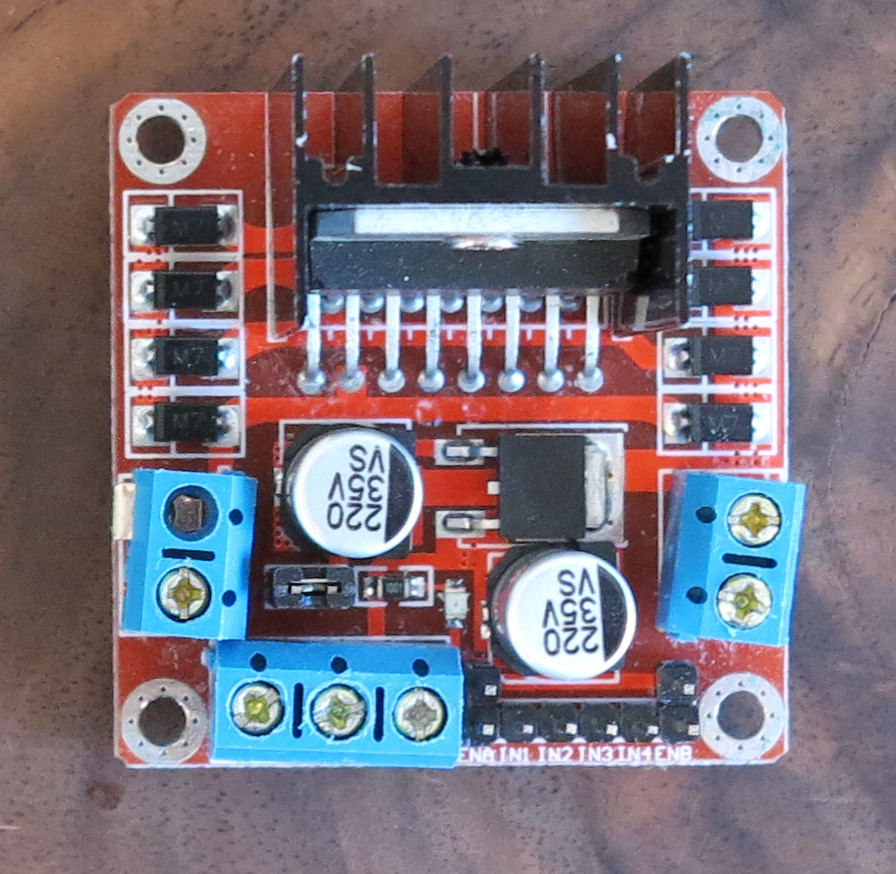 L298n Motor Controller As Dual H Bridge Raspberry Pi Roboter