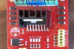 l298n motor controller LED