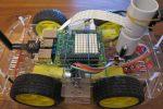 Raspberry Pi robot Sense Hat