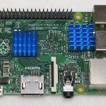 Raspberry Pi single board computer – heatsink kit