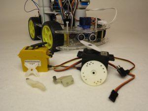 Different Servo Motors Raspberry Pi robot