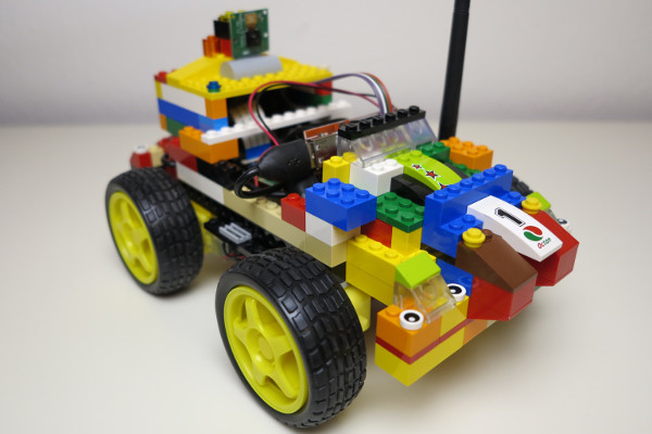RC car of LEGO bricks