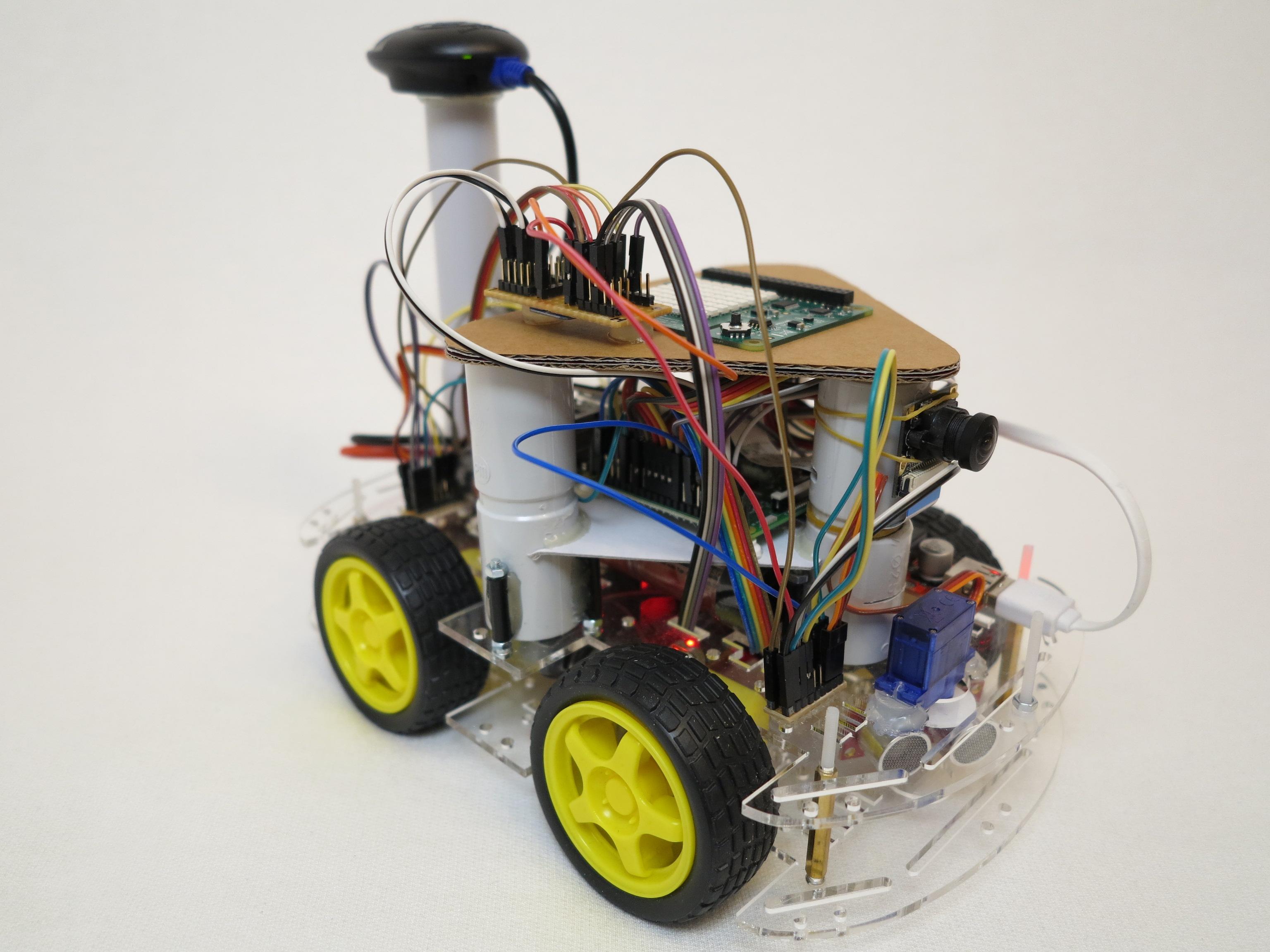 Self Driving Car Raspberry Pi