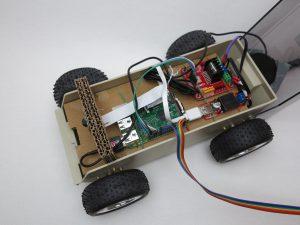 Raspberry Pi self-driving robot-car 14