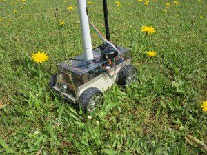 Raspberry Pi self-driving robot-car 2