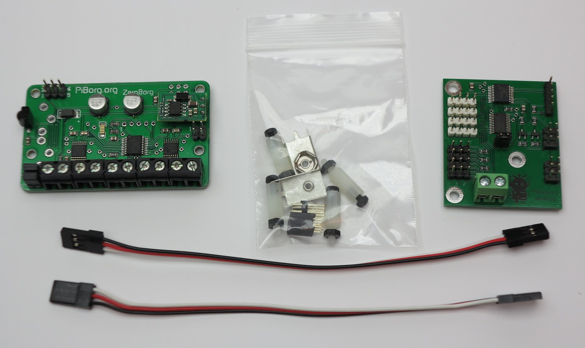 Zeroborg Motor Controller For Your Rapi Zero Raspberry