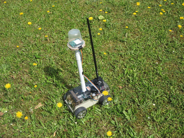 self-driving Raspberry Pi driving robot-car