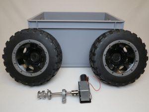 Big Rob - gear motor and power train