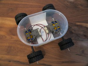 Raspberry PI - remote controlled car with a Raspberry Pi with four dc motors