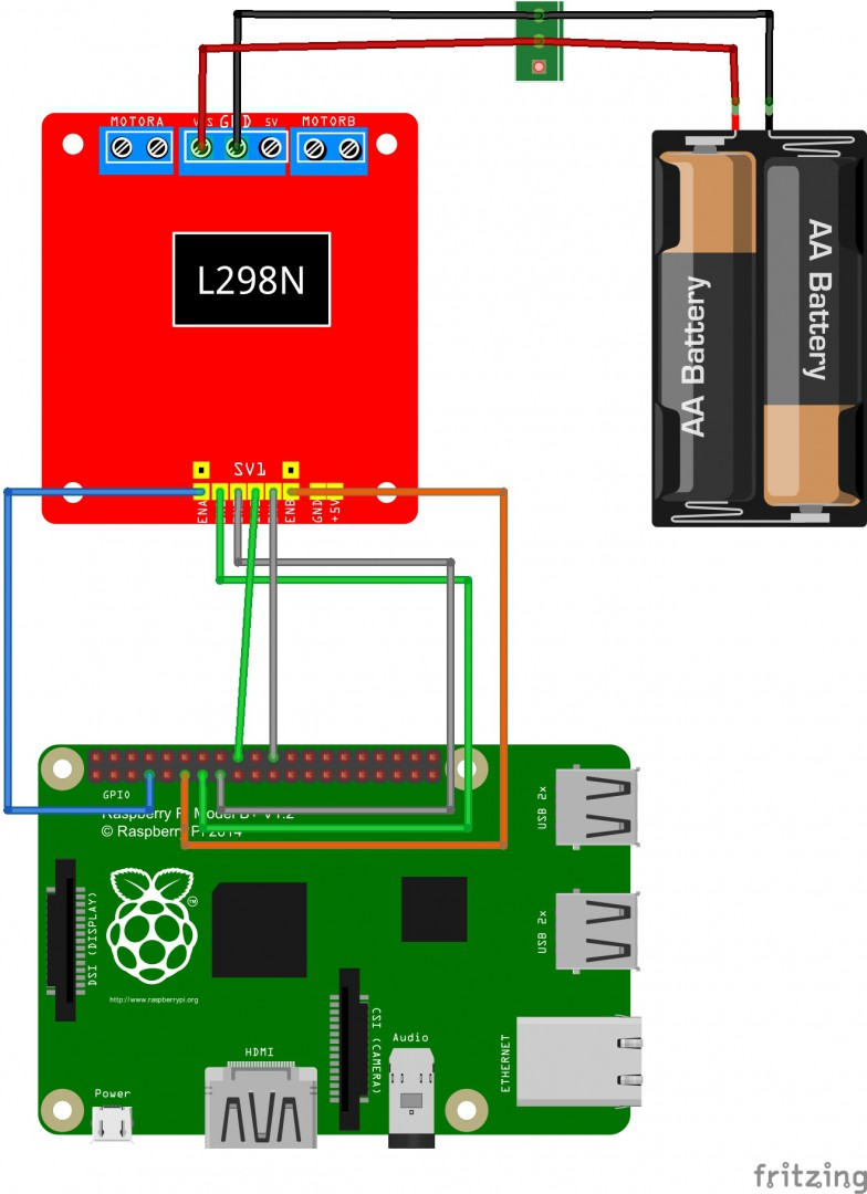 Raspberry Pi Wifi Radio Controlled Rc Vehicle Wiring A Motor Remote Car With Driver