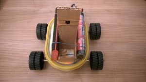 Raspberry PI - remote controlled car with a Raspberry Pi camera NoIR