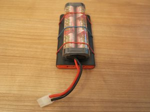Raspberry PI - remote controlled car with a Raspberry Pi power supply 4