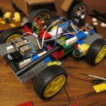 Raspberry Pi Robot - remote-controlled robot car made of LEGO® bricks