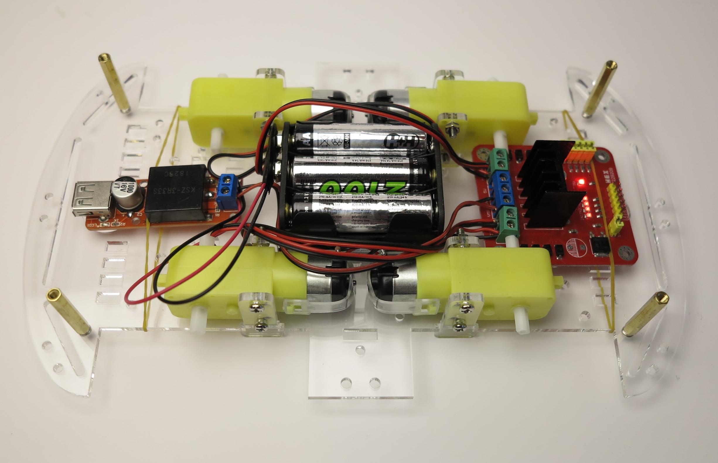 raspberry pi roboter auto selber bauen komponenten. Black Bedroom Furniture Sets. Home Design Ideas