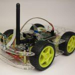 Raspberry Pi Roboter - Smartcar Aryl-Glas Roboter-Bausatz