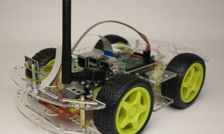 Smart robot chassis Acrylic with a Raspberry Pi