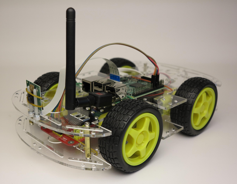 raspberry pi roboter smart car acryl glas roboter. Black Bedroom Furniture Sets. Home Design Ideas
