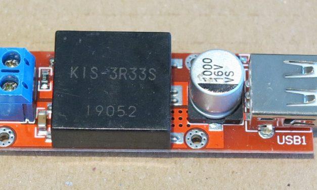 Raspberry Pi Computer Stromversorgung – 5V Step-Down Konverter