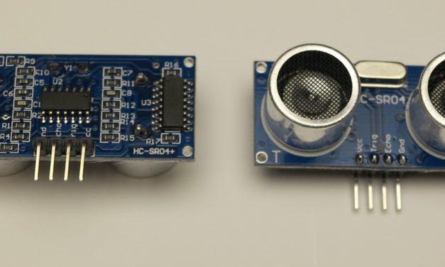 Raspberry Pi und der HC-SR04 Ultraschallsensor zur Entfernungsmessung