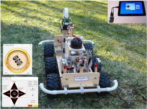 Raspberry Pi Roboter-Auto HaBuRo 1