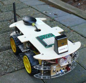 Raspberry Pi Roboter-Auto HaBuRo 2