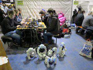 MakeMunich 2016 humanoid robot