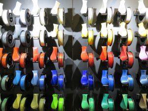 MakeMunich 2016 3D printing filaments