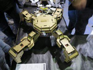 MakeMunich 2016 robots