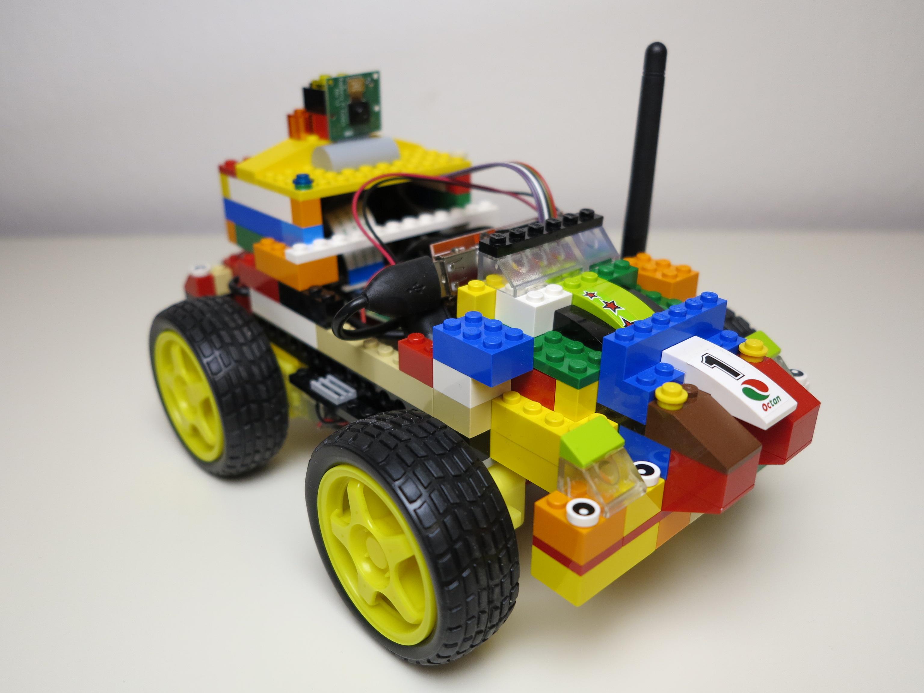 raspberry pi roboter ferngesteuertes roboter auto aus. Black Bedroom Furniture Sets. Home Design Ideas