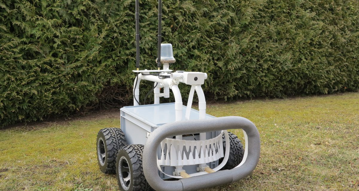 RASPBERRY PI ROBOTER – BIG ROB mit differential GPS