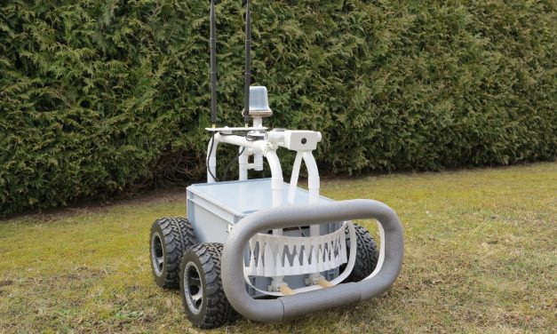 Big Rob – Raspberry Pi Roboter with differential GPS