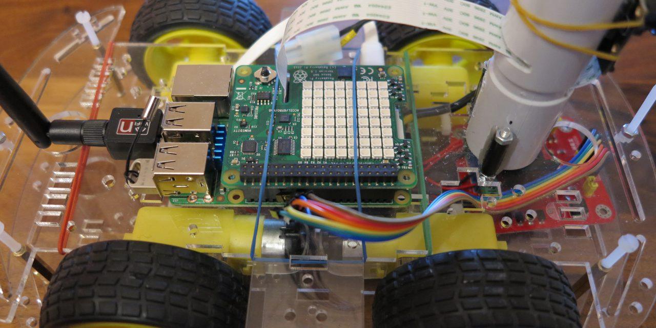 Raspberry Pi Sense-HAT für Roboter