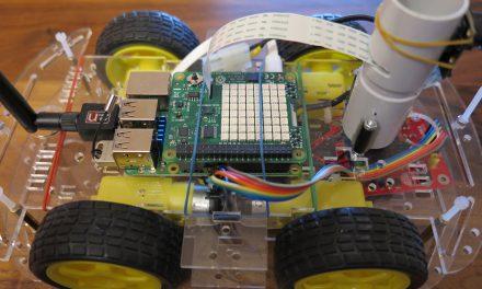 Raspberry Pi Sense HAT – robot
