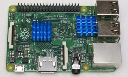 Heat sink for the Raspberry Pi computer