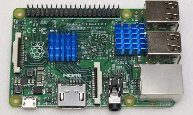 Kühlkörper für den Raspberry Pi Computer