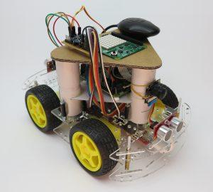 autonom fahrendes Roboter-Auto