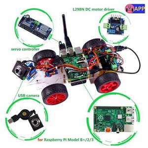 SunFounder Roboterbausatz Smart Video Car