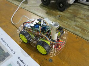 Custom-Build-Robots.com exhibition booth robot car