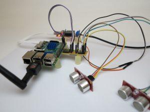 I2C Hub with two SRF08 ultrasonic sensors 2
