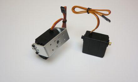 Raspberry Pi – controlling servo motors