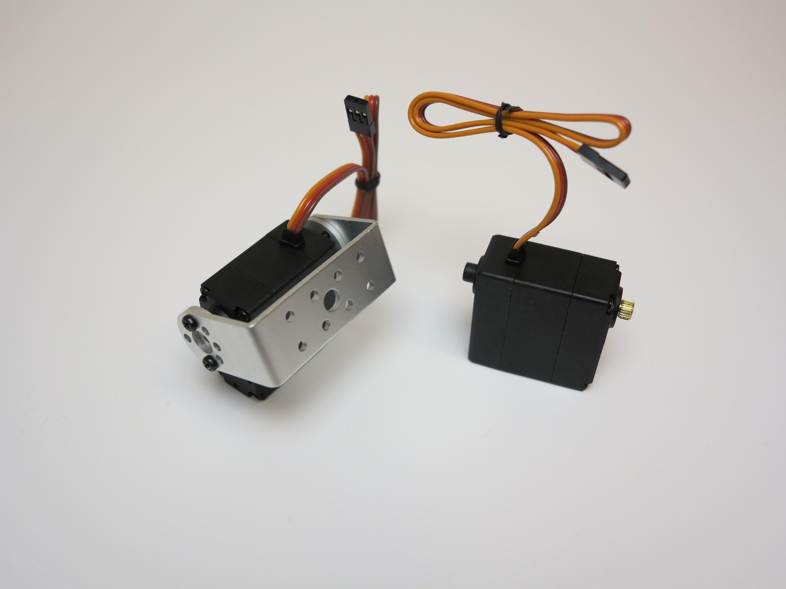 Raspberry Pi Controlling Servo Motors Roboter Wiringpi Soft Pwm Example