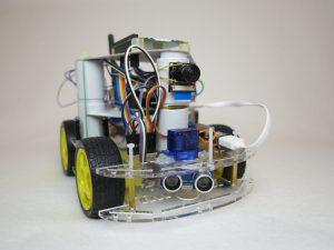 Servo Motor - Raspberry Pi robot car
