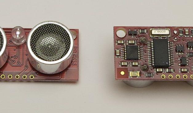 Raspberry Pi und der SRF08 Ultraschallsensor mit I2C Bus zur Entfernungsmessung