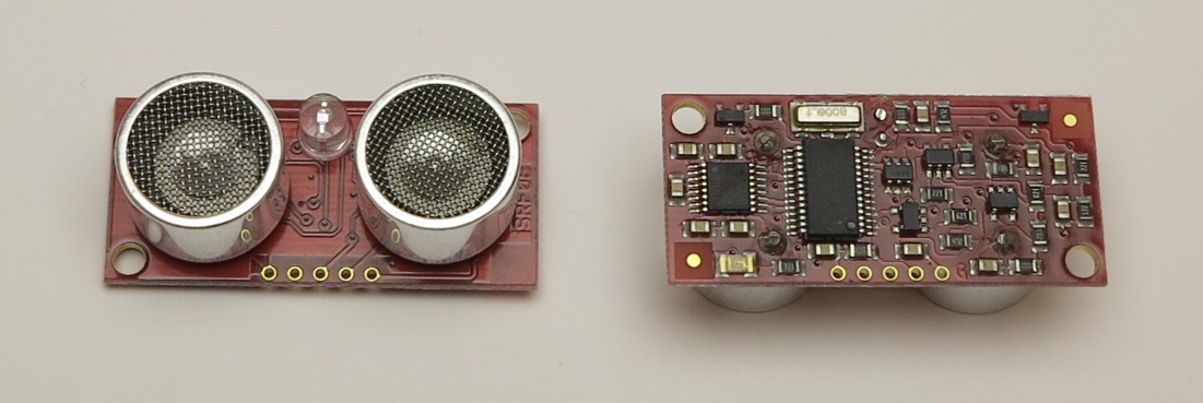 SRF08 Ultrasonic Range sensor with I2C bus